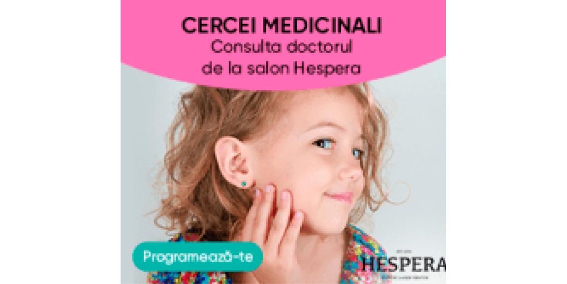 Cercei medicinali la Salon Hespera